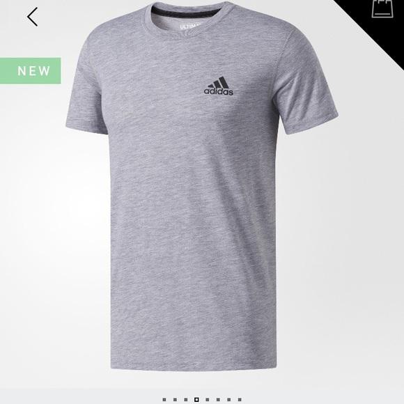 Adidas camisetas gris camiseta poshmark